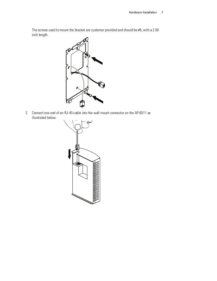 Motorola solutions ap 6511 access point installation guide