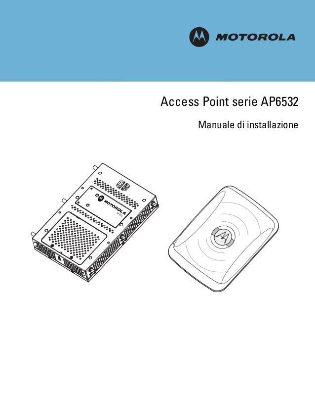 M Access Point serie AP6532 Manuale di installazione