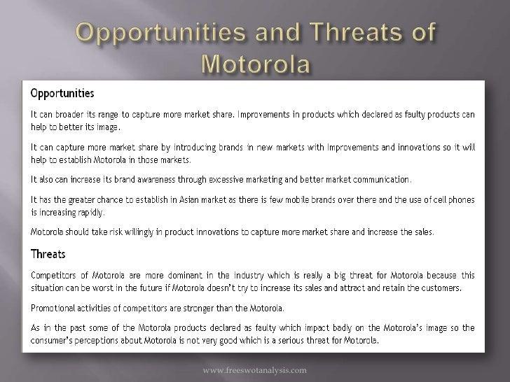 motorola market analysis