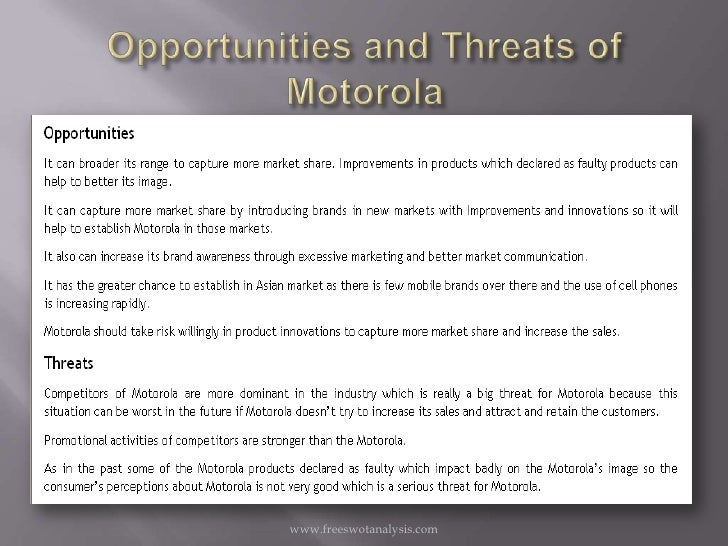 motorola case study analysis Motorola new directions in cav analysis to improve the rp process -the search for the golden part this presentation by motorola tamper casting case study brembo.