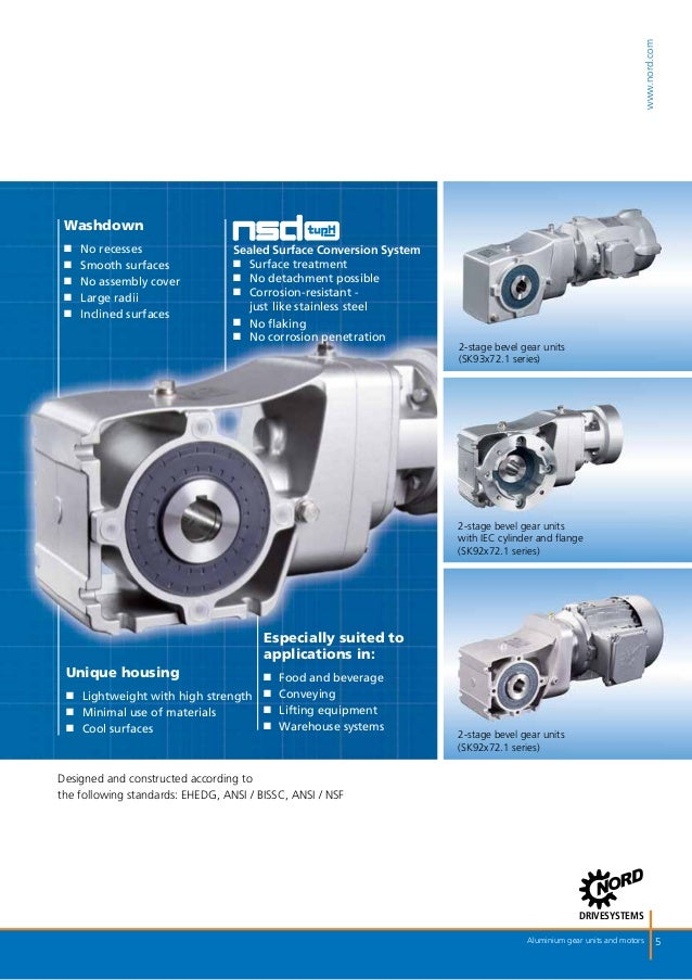 Motorreductores brochure nord de motorreductores de aluminio for Nord gear motor catalogue