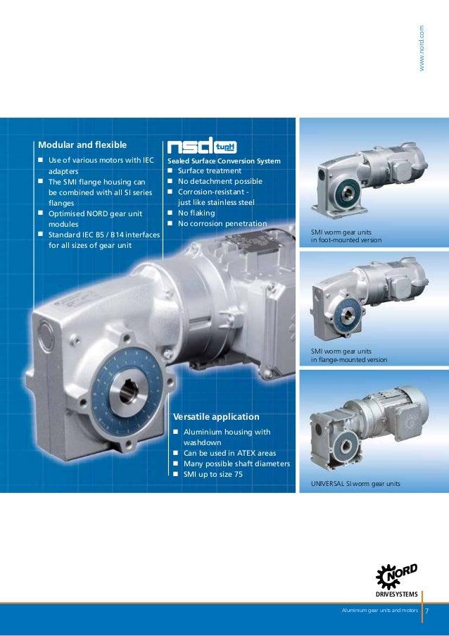 Motorreductores Brochure Nord De Motorreductores De Aluminio