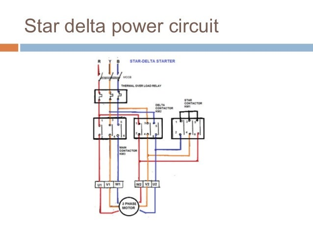 Motor Starter. Stardelta Connection In Motor 14. Wiring. Star Delta Starter Wiring Diagram Simple At Scoala.co