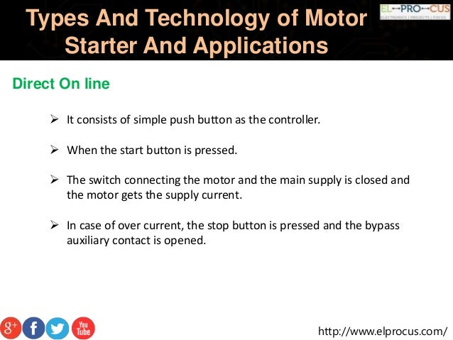 Motor StarterTypes and Technology of Motor Starter And Its Applicatio…
