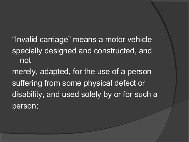 An Introduction To Motor Vehicles Act 1988