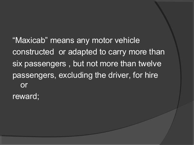 motor vehicle act 1988 pdf