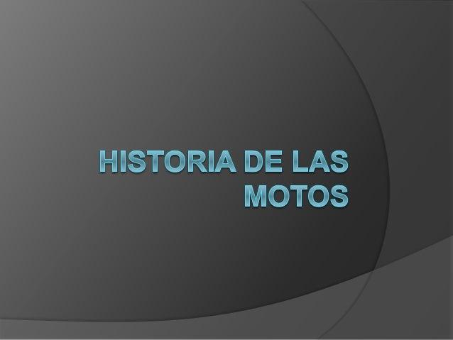 INICIO DE LA MOTOCICLETA