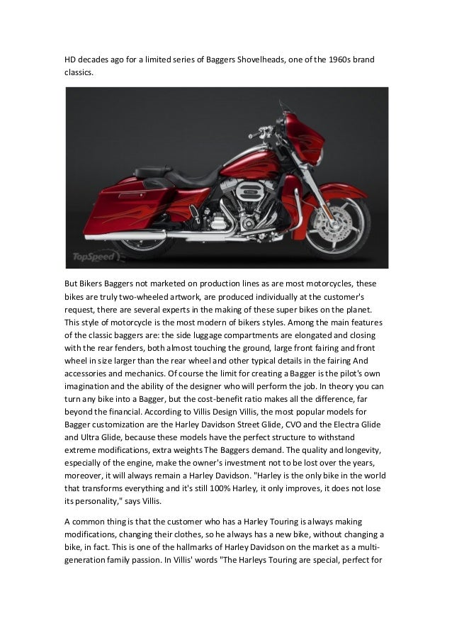 Motorcycle Baggers- The Radical Tourings! Symbol of technology, desig…