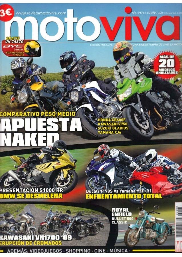Moto viva 63 - Ecosse Moto Works