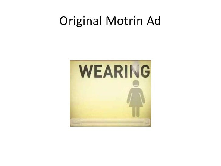 Original Motrin Ad