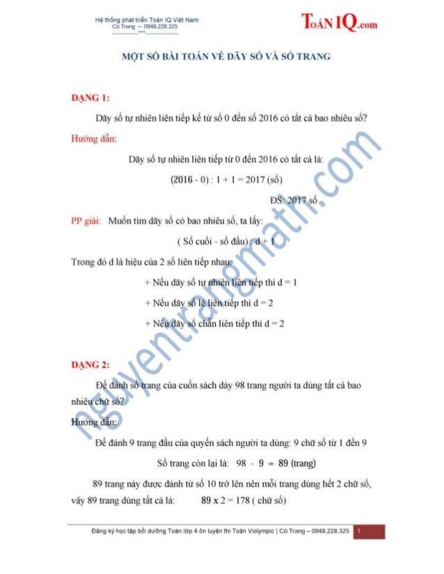 TUYỂN TẬP 18 CHUYÊN ĐỀ BỒI DƯỠNG TOÁN LỚP 3 ÔN LUYỆN THI VIOLYMPIC TRÊN MẠNG (Tài liệu lưu hành nội bộ) Giáo viên biên soạ...