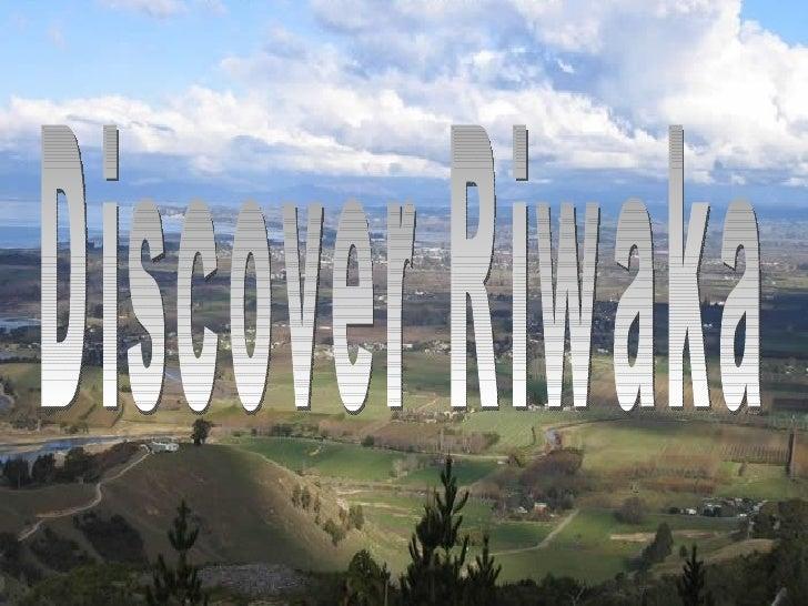 Discover Riwaka
