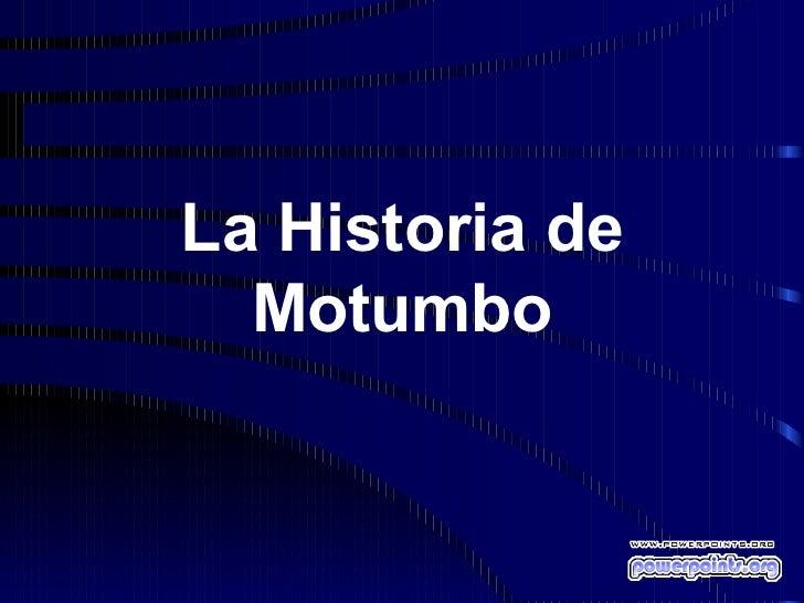 motumbo droga