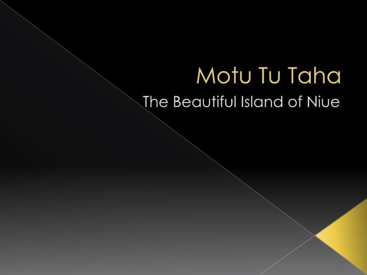  Niue is self-governing with free  association with New Zealand. On the  outside, this means Niue people are New  Zealand...