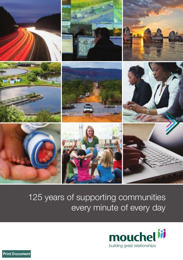125 years of supporting communities every minute of every day  Print Document