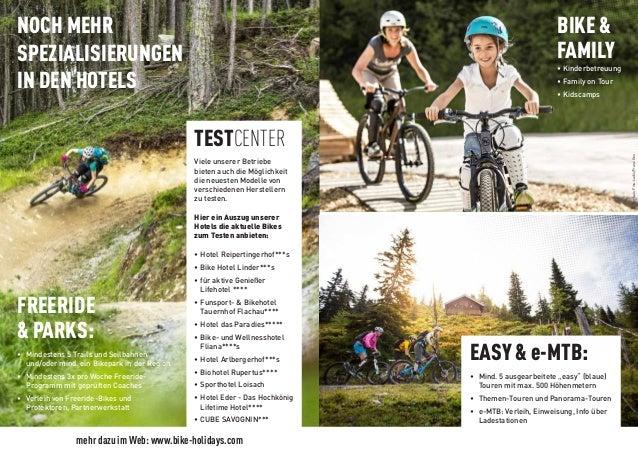 MTB Urlaub: Tour & Trail in Ö, IT und CH