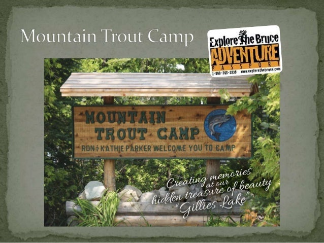 Mountain Trout Camp Overnight Campsites