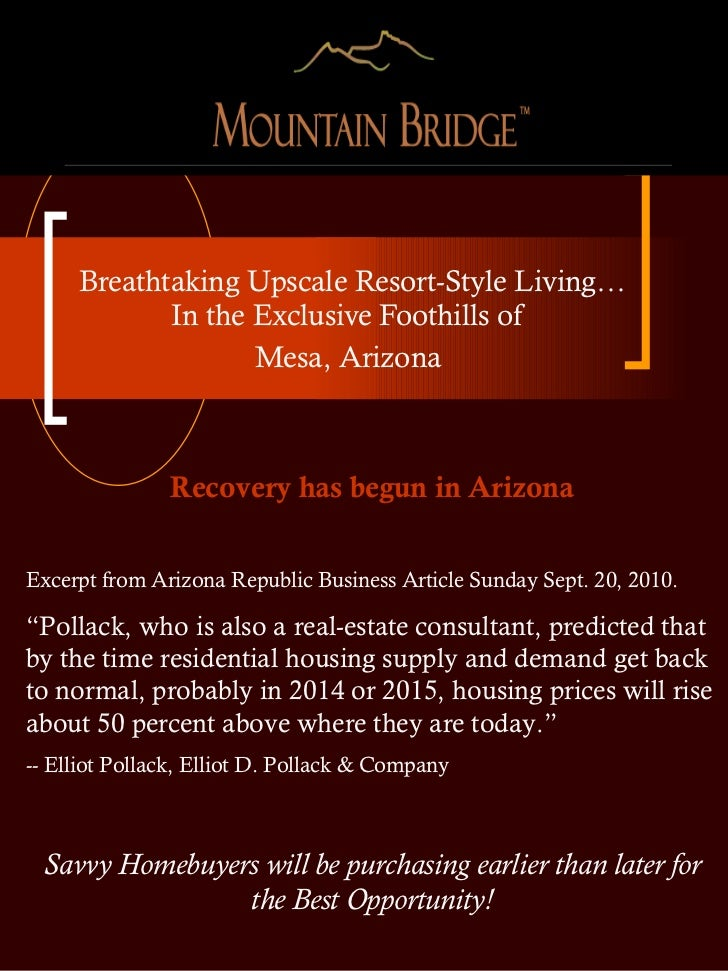 Breathtaking Upscale Resort-Style Living… In the Exclusive Foothills of  Mesa, Arizona  Recovery has begun in Arizona Exce...