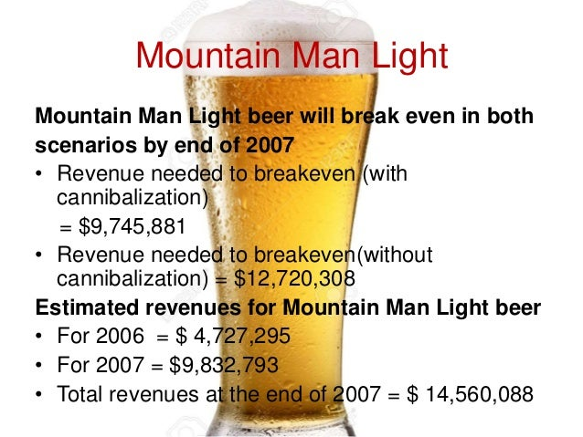 Mountain man beer company hbs case