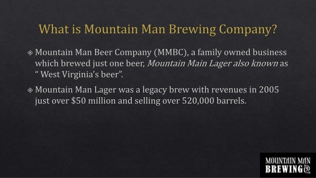 mountain man brewing company excel Harvard business school case study on mountain man brewing company by  shashank srivastava, iet lucknow under the guidance of prof.