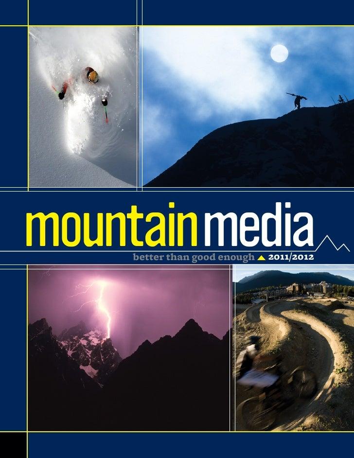 mountainmedia    better than good enough   2011/2012