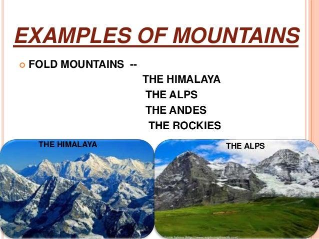 Fold Mountains Himalaya Nornasfo