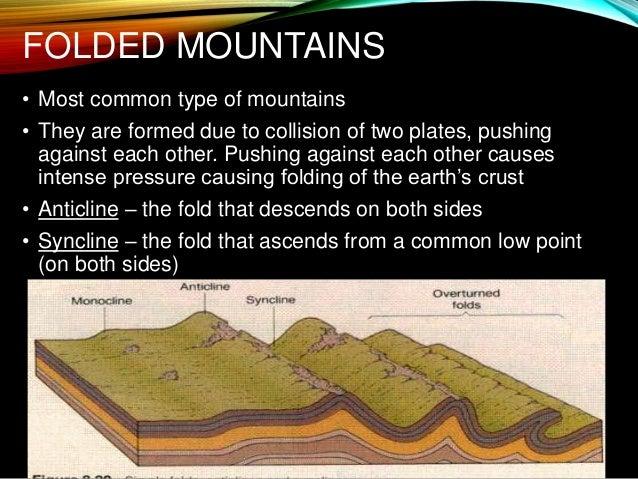 Mountains 5 types