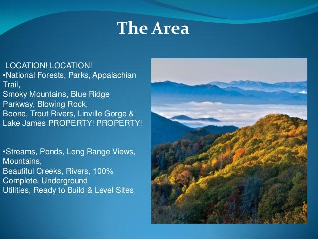 Mountaintop land liquidation and properties for sale forest ridge nc