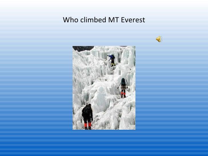 mount everest        1  1