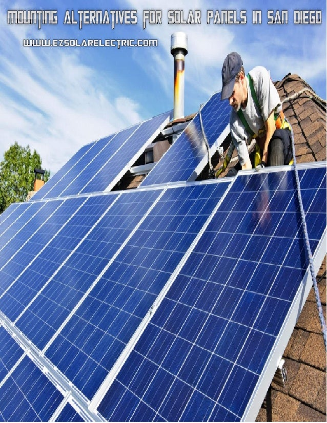 Mounting Alternatives For Solar Panels In San Diego