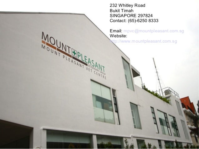 232 Whitley Road Bukit Timah SINGAPORE 297824 Contact: (65)-6250 8333 Email: mpvc@mountpleasant.com.sg Website: http://www...