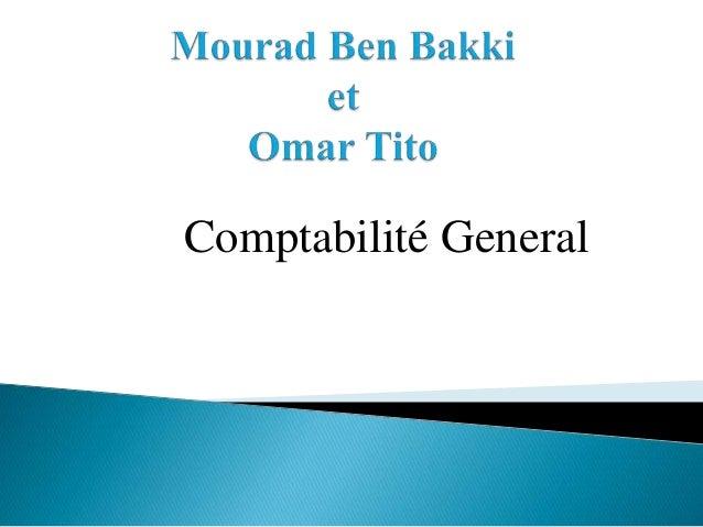 Comptabilité General
