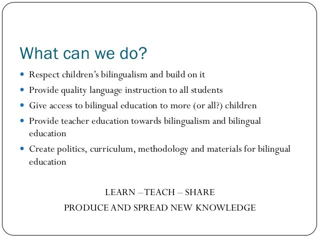 an overview of bilingual education in america Get answers on early childhood education this site offers extensive data on american public and private elementary and secondary schools 2012, reading.