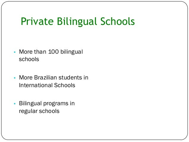 an overview of the disadvantages of the bilingual education programs in english schools English is fast becoming the world's universal language, and instant translation  technology is improving every year so why bother learning a.