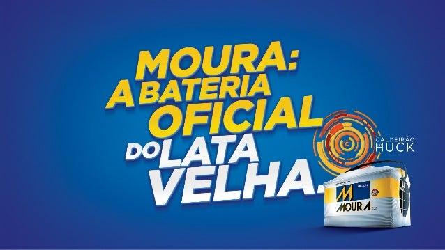 BATERIAS MOURA - LATA VELHA