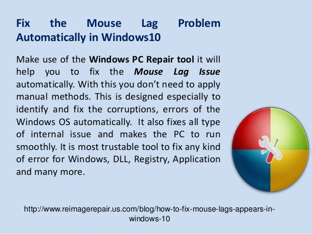Steps to Fix: Mouse Lags Appears in Windows 10