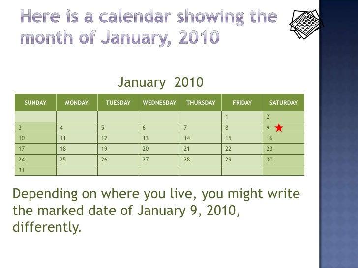 fun calendar dates