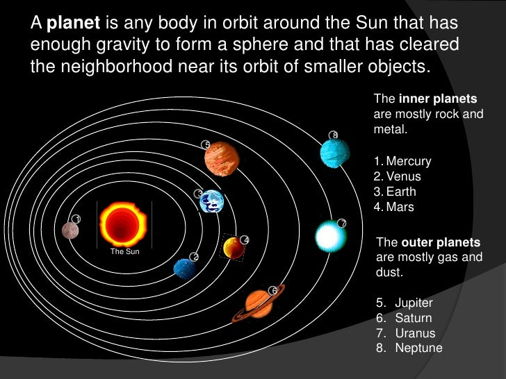 Mouse Mischief Planets Of Our Solar System