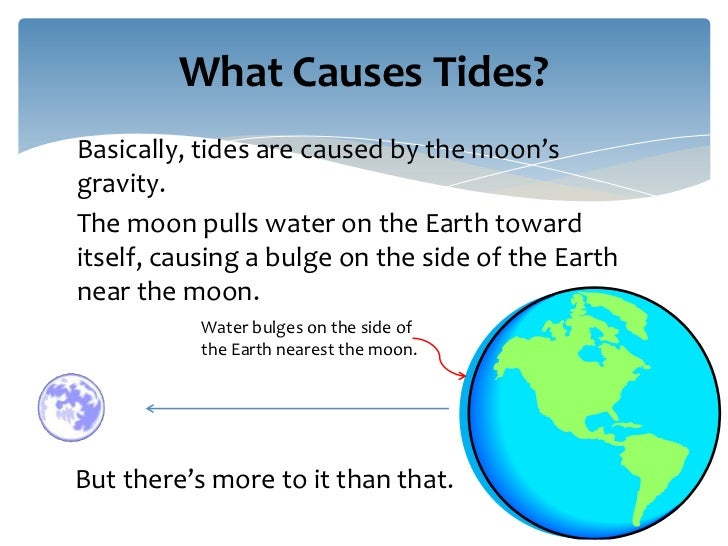 what causes tides