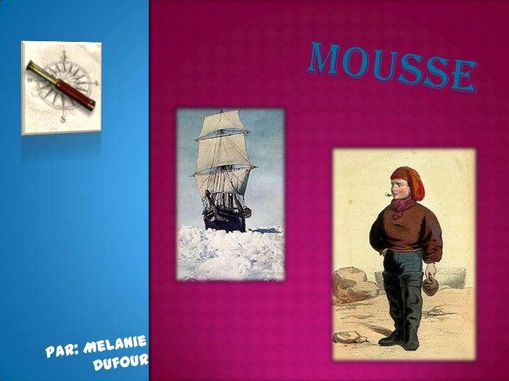 mousse<br />Par: Melanie Dufour<br />