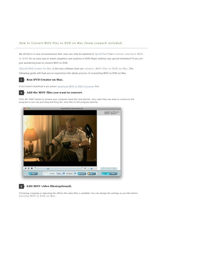 Totally free software application to burn your own home DVD on Mac OS X