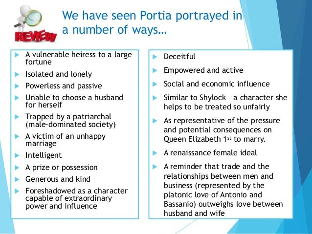 portia character essay Read this essay on favourite character portia come browse our large digital warehouse of free sample essays get the knowledge you need in order to pass your classes.