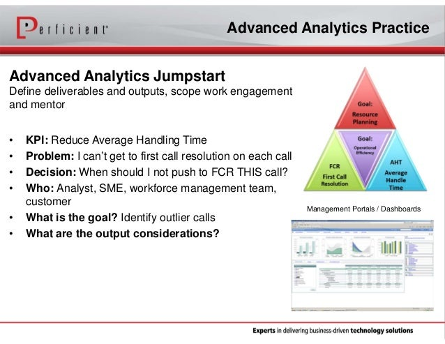 Move from Business Intelligence to Advanced Analytics by Integrating …