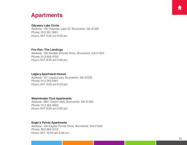 Fox Run Apartments Brunswick Ga