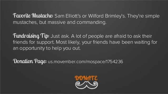 Favorite Mustache: The Jerry Lundegaard Fundraising Tip: Remember there is a strong positive correlation between creepines...