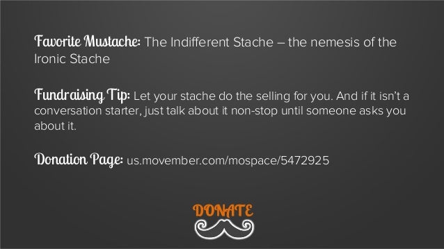 8 Fundraising Tips From Movember's Studliest Staches