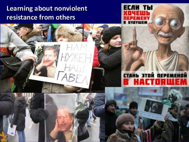 Learning About Nonviolentresistance From Others