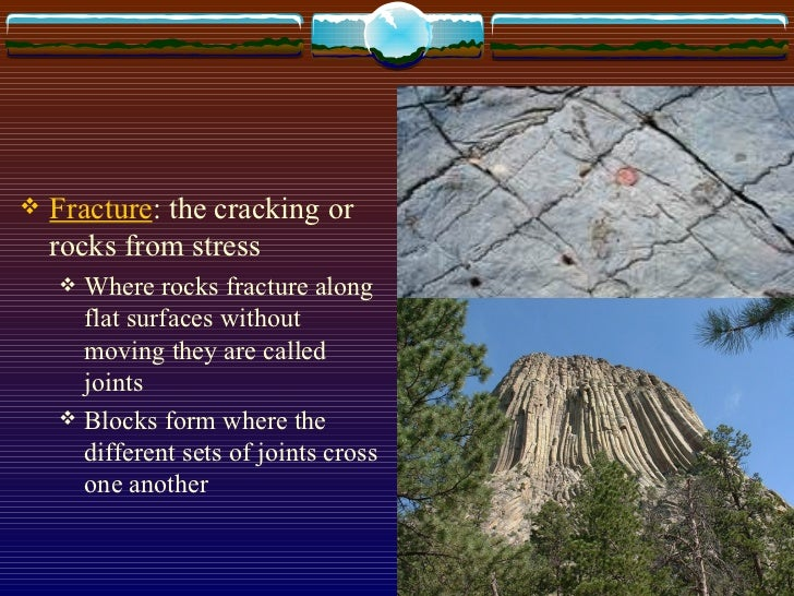 What is a crack in the Earth's crust called?