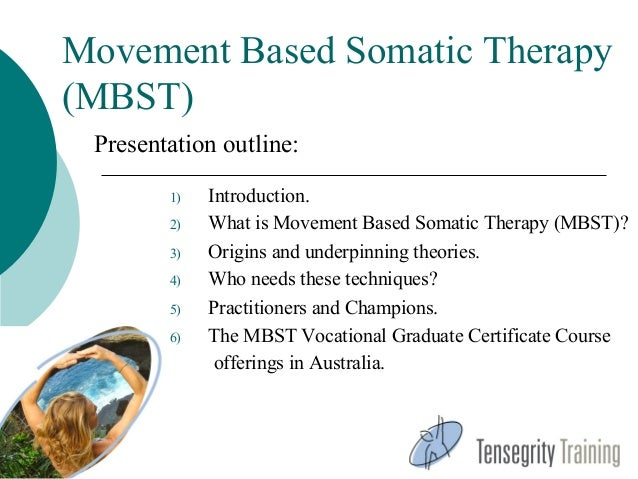Movement Based Somatic Therapy Israel Presentation March 2013