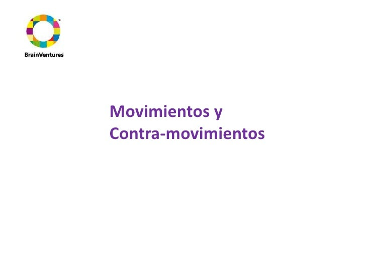 Movimientos y Contra-movimientos<br />